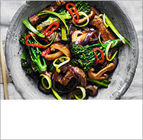 Fiery beef and chilli stir-fry
