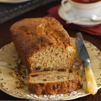 LOVE life banana date loaf
