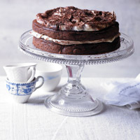 Duchy Golden Ale & dark chocolate cake