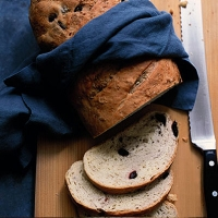 Fennel and olive bread