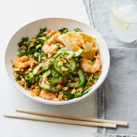King prawn stir-fried rice