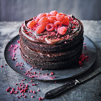 Martha's vegan chocolate cake