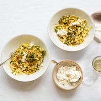 Tagliatelle-with-courgettes-and-ricotta