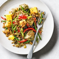 Thai chicken & grains with pineapple