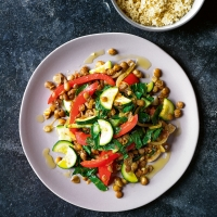 Vegetable & lentil stir-fry