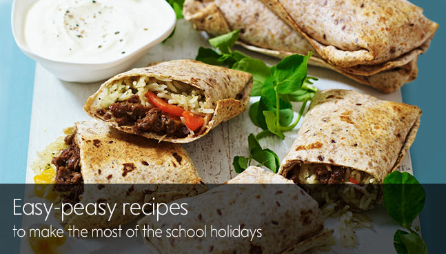 Easy-peasy recipes