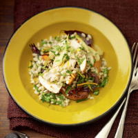 Chicken and barley salad