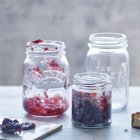 Fig and blackberry jam