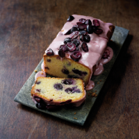 Grape & almond loaf