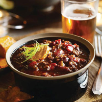 Heston's Rich chilli con carne with spiced butter