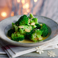 Heston's broccoli and almonds