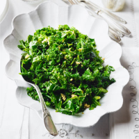 Kale sauté with garlic & butter