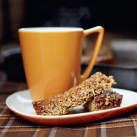 Morning glory flapjacks