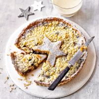 Martha Collison's crumble topped mince pie