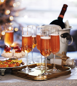 Good sparkling wines for a special family Christmas