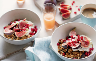 sour cherry granola