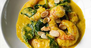 Laotian Prawn and Mango Curry