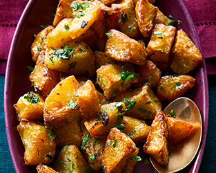Heston's ultimate Christmas roast potatoes
