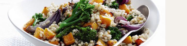 Flavoursome, thick pearl barley