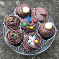Egg-free chocolate cupcakes