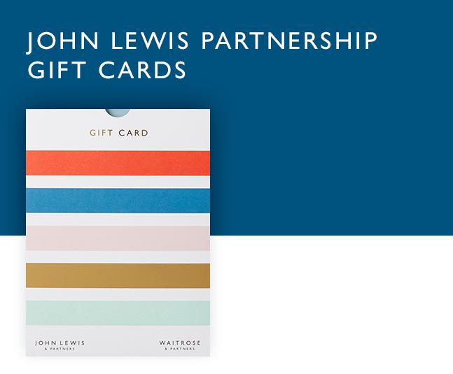 John Lewis Partnership gift cards