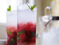 Blackcurrant Mojito cocktail recipe