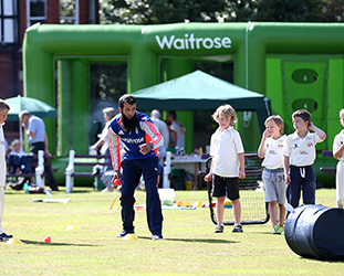 Cricket in the community