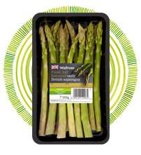 Early British asparagus