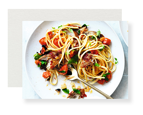 Fish-linguine