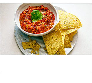 Tomato & chipotle chilli salsa recipe