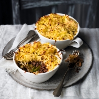 A cottage pie for entertaining