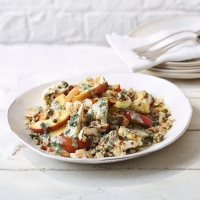Peach-&-cauliflower-salad
