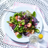Roasted_beetroot_pea_shoot_salad