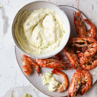 Green chilli and lime mayonnaise