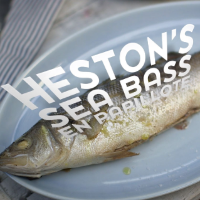 Heston Blumenthal's sea bass en papillotte