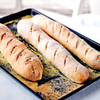 Martha Collison's garlic baguettes