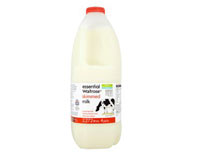 essential Waitrose skimmed milk