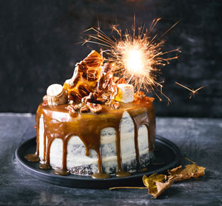 Martha Collison's bonfire cake