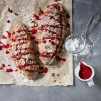 Hazelnut-and-raspberry-croissants